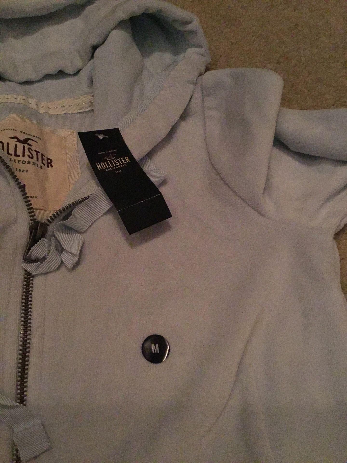 Hollister zipped hoodie