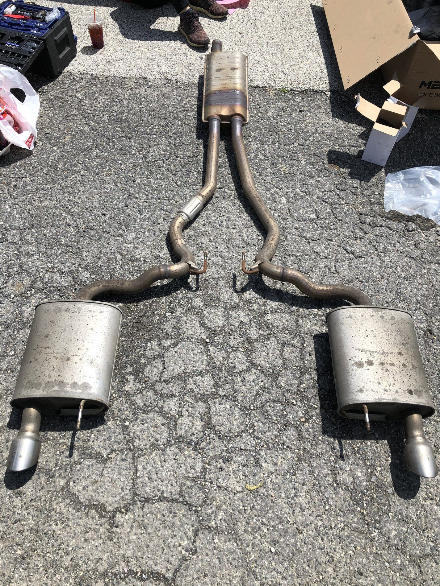 Stock 17 Mustang Gt Exhaust. Local Pick Up Only