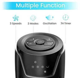 BRAND NEW IN UNOPENED BOX- Tower Fan, 42 Inch Portable Oscillating Quiet Cooling Fan with Remote Controlled, 3 Modes and Speed Settings, Built-in Time Thumbnail