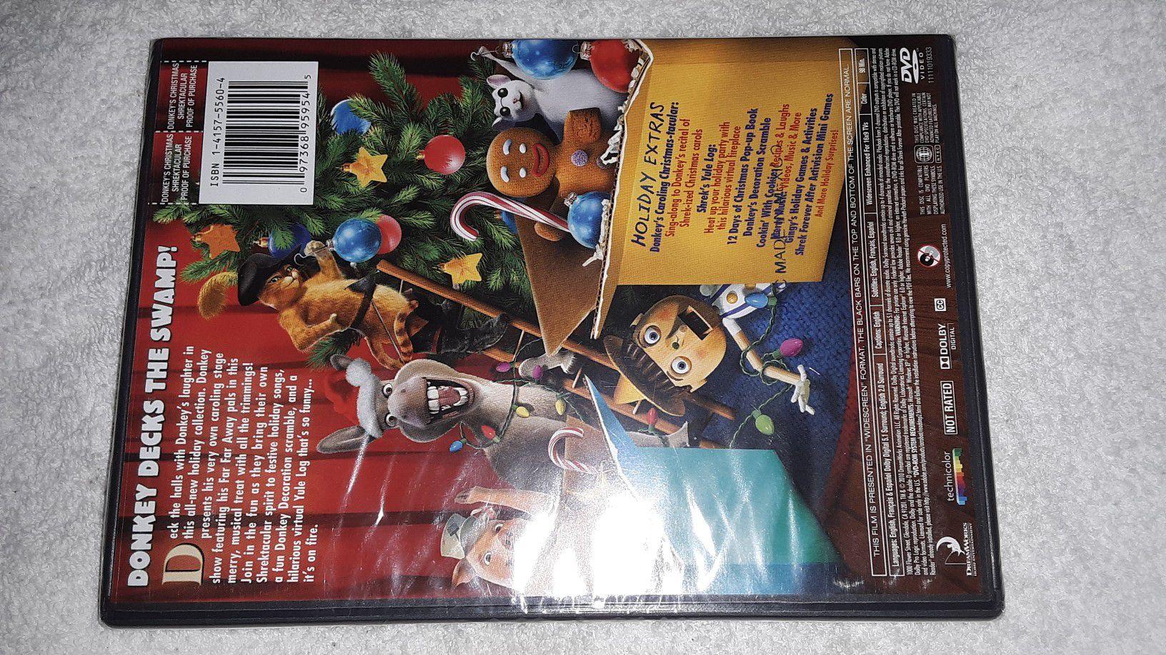 Shrek donkey Christmas dvd