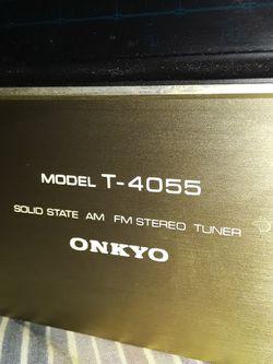 ONKYO TUNER T-4055 Thumbnail