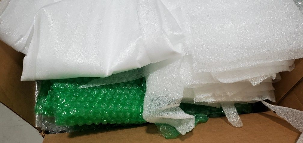 Used Bubble Wrap