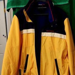 Tommy Hilfiger Yellow Mens Jacket Thumbnail