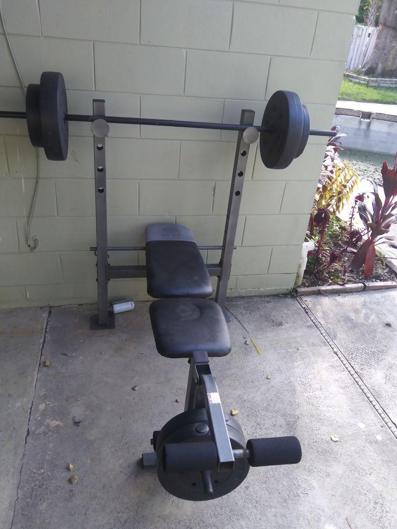 Bench press &weight