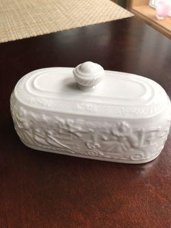 Pfaltzgraff Procession butter lid