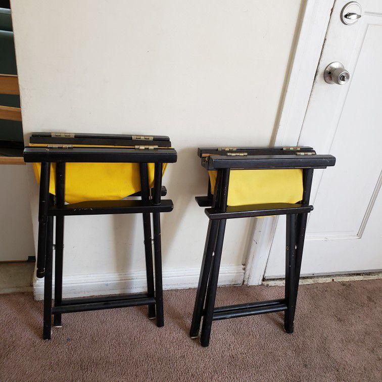 Folding Directors Chairs