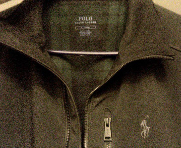 men's Polo Ralph Lauren fleece-lined Jacket (large)
