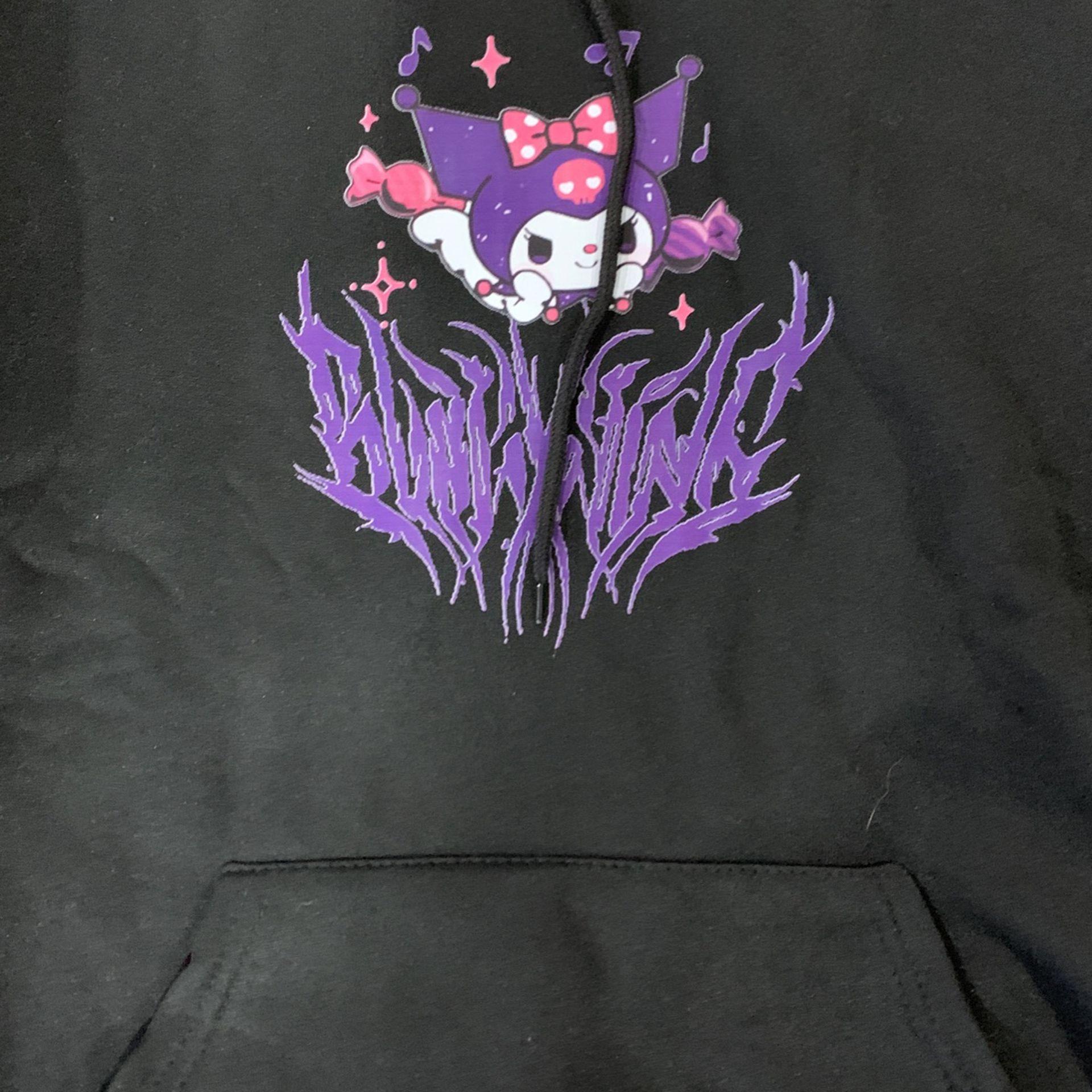 Kuromi /black And Purple Jacket/youth Medium