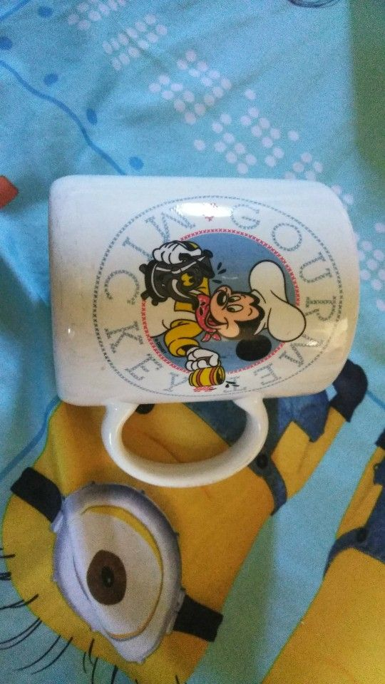 2 Collector Coffee Cups Harry Potter And Mickey Mouse