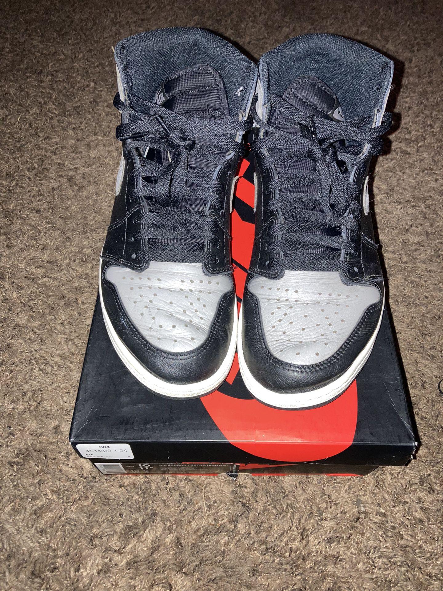 Jordan 1 Shadow  Size 10