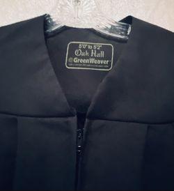 Harry Potter Oak Hall Greenweaver Graduation Gown  Thumbnail
