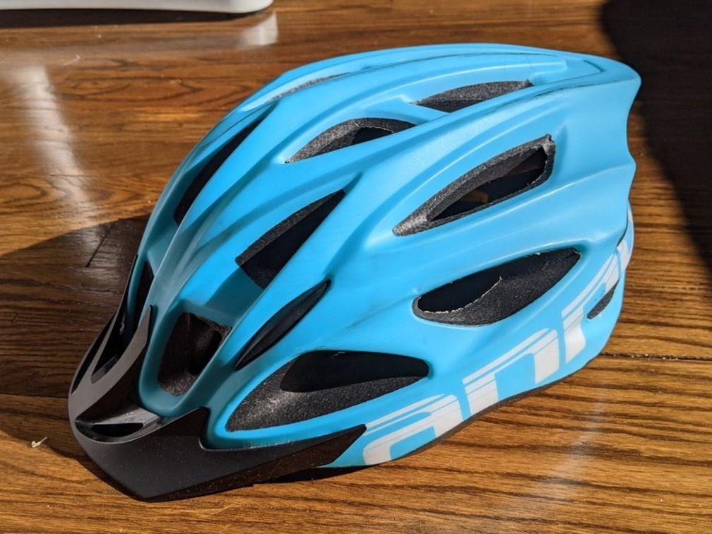 Blue Bike Helmet, L/XLSize