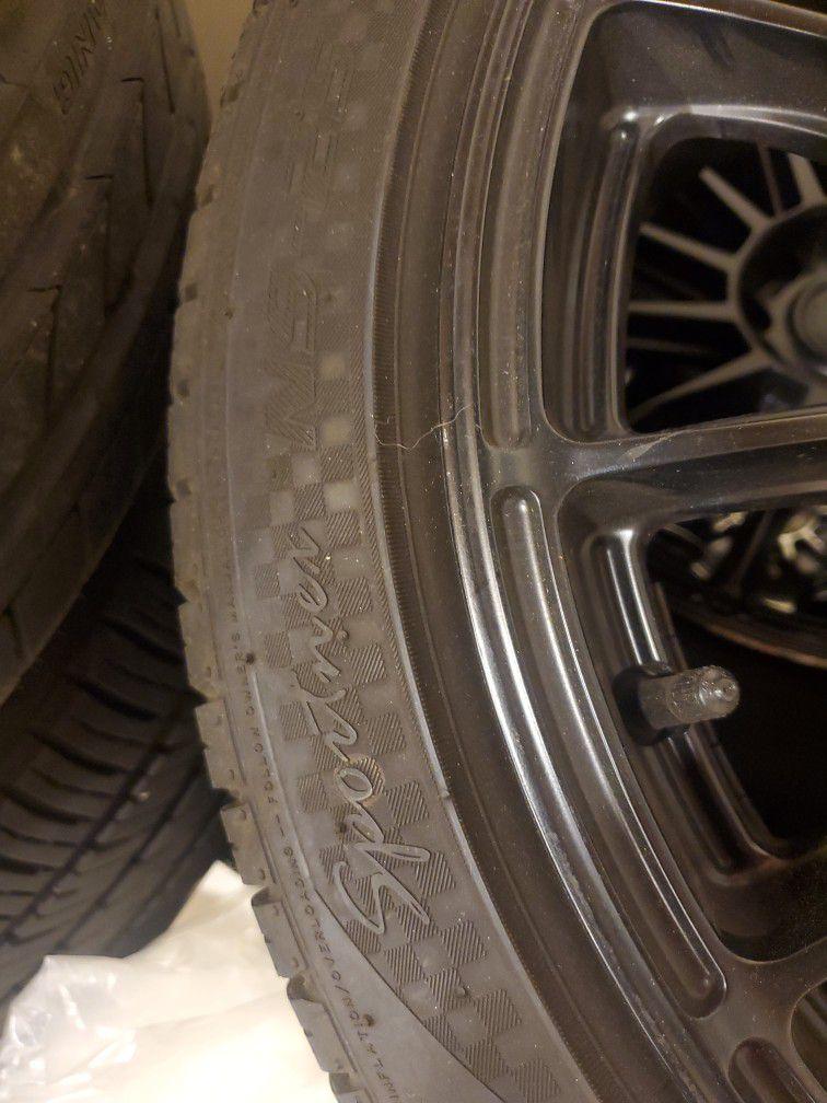 5x120 Wheels/tires