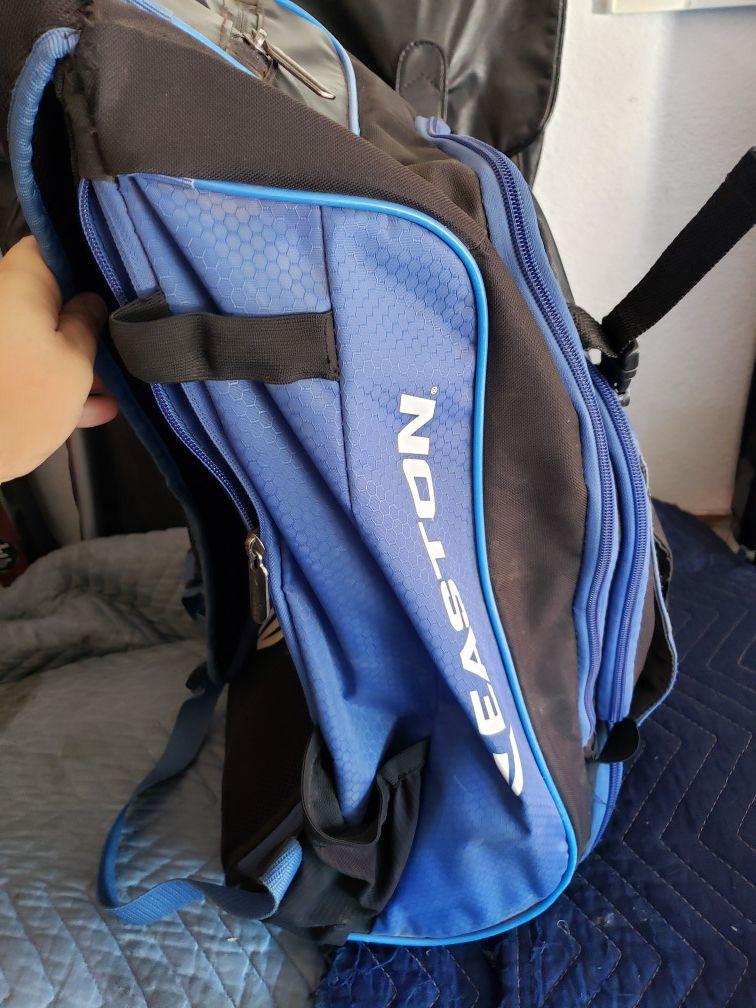 Youth baseball backpack