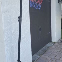 Basketball Junior Height-Adjustable 28 In. with Wheels Thumbnail
