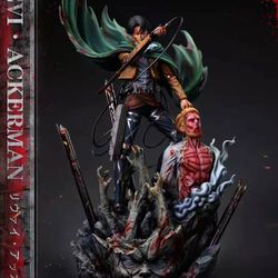 Mikasa Ackerman Resin Figures Levi Attack On Titan  Thumbnail