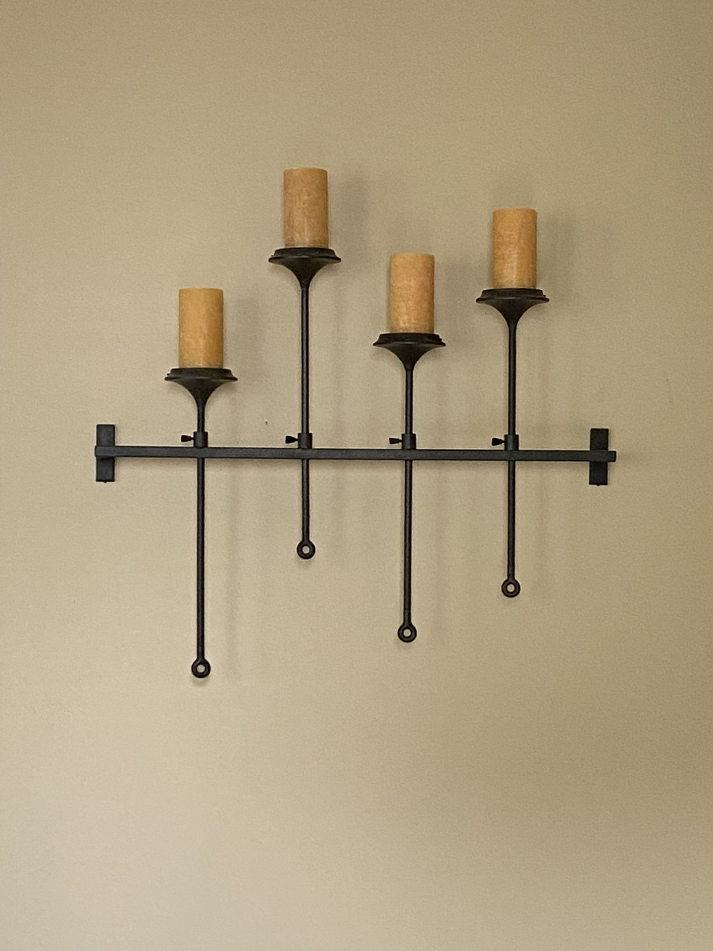Pottery Barn Wrought Iron Candle Holder