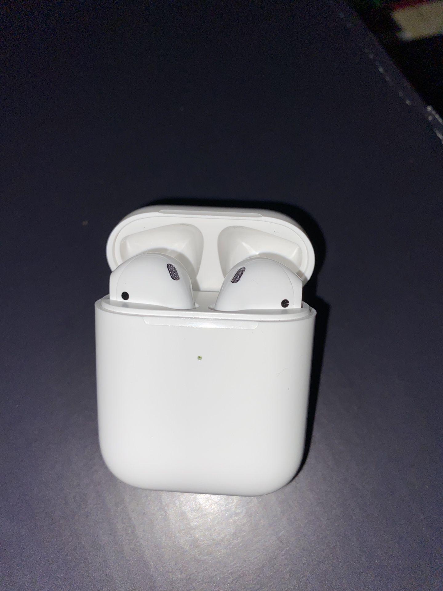 Apple AirPods 2nd Gen w/ Wireless Charging Case & Free Grips❕