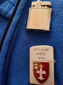 Firefly lighter n 1954 korea lighter Thumbnail