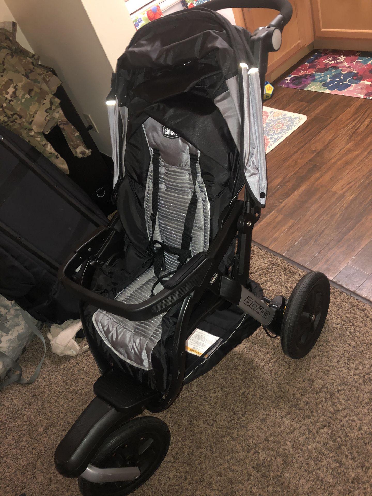 Single Baby Stroller.