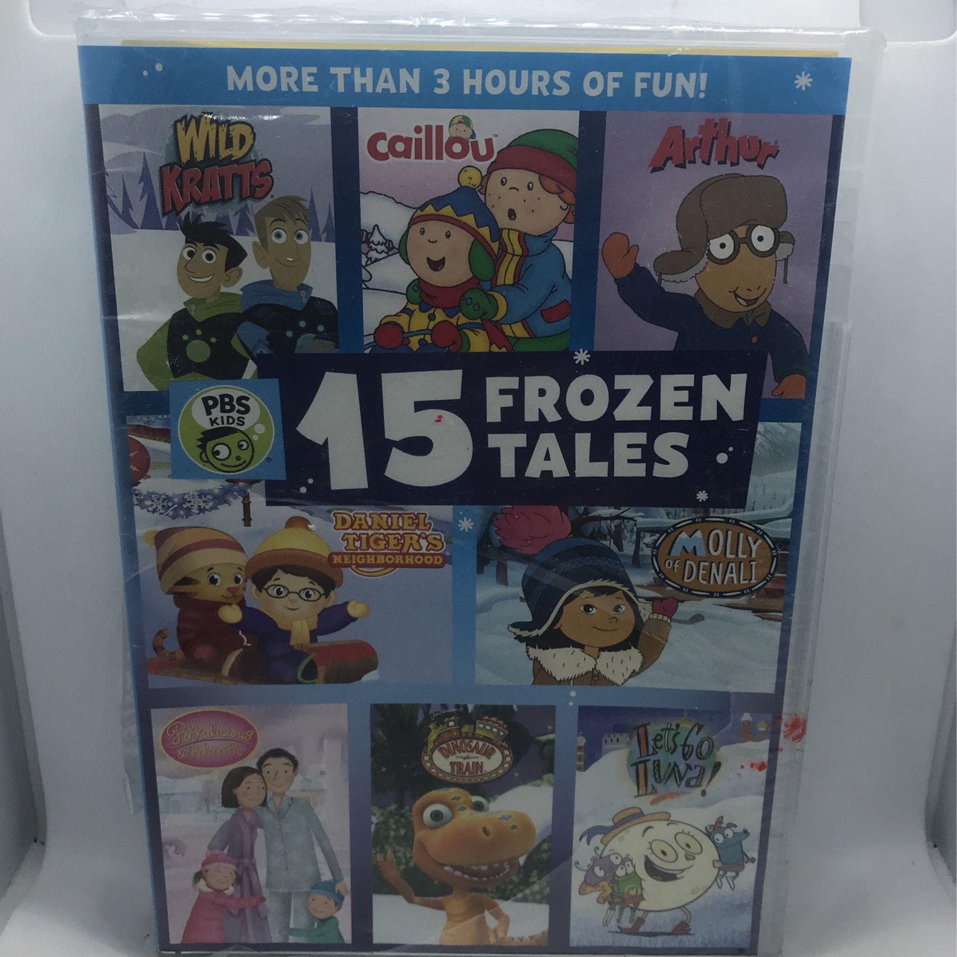 PBS Kids 15 Frozen Tales DVD 📀 New