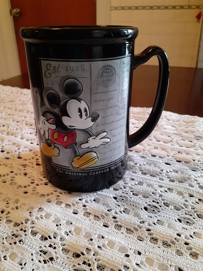 Mickey mouse coffee cup