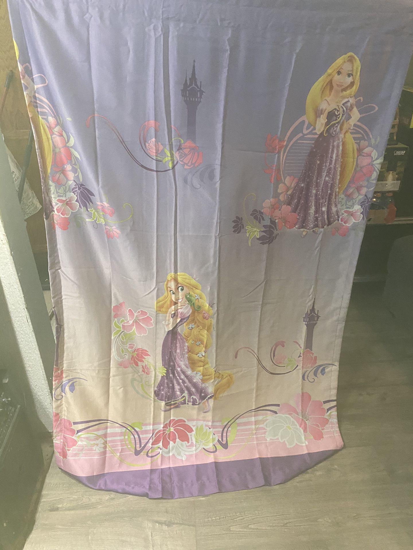 Rapunzel curtain