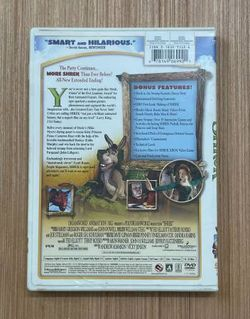 Shrek 2001 Children's And Family DVD Movie Thumbnail