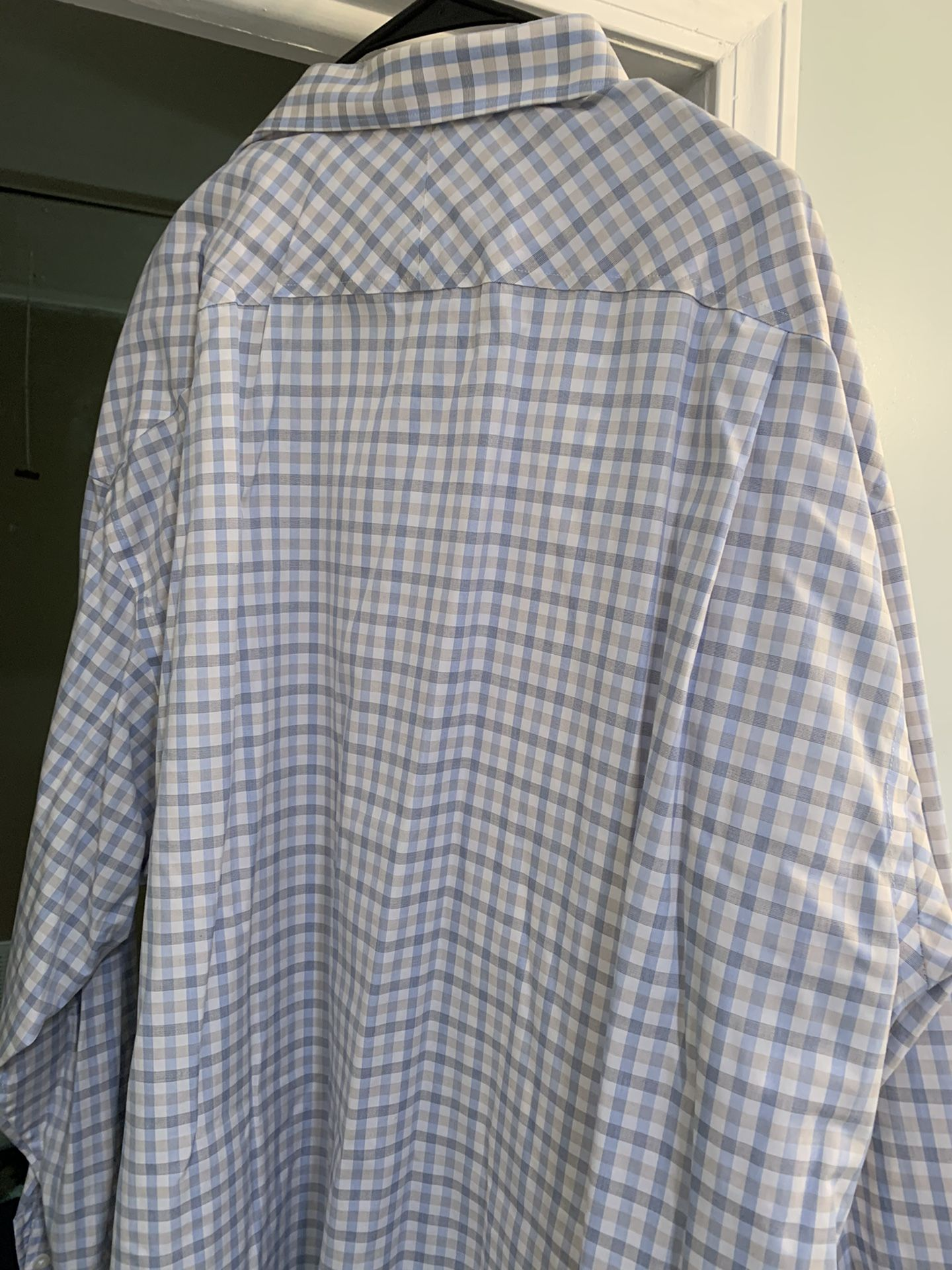 Joseph Abboud 3XL BLUE, Tan And White