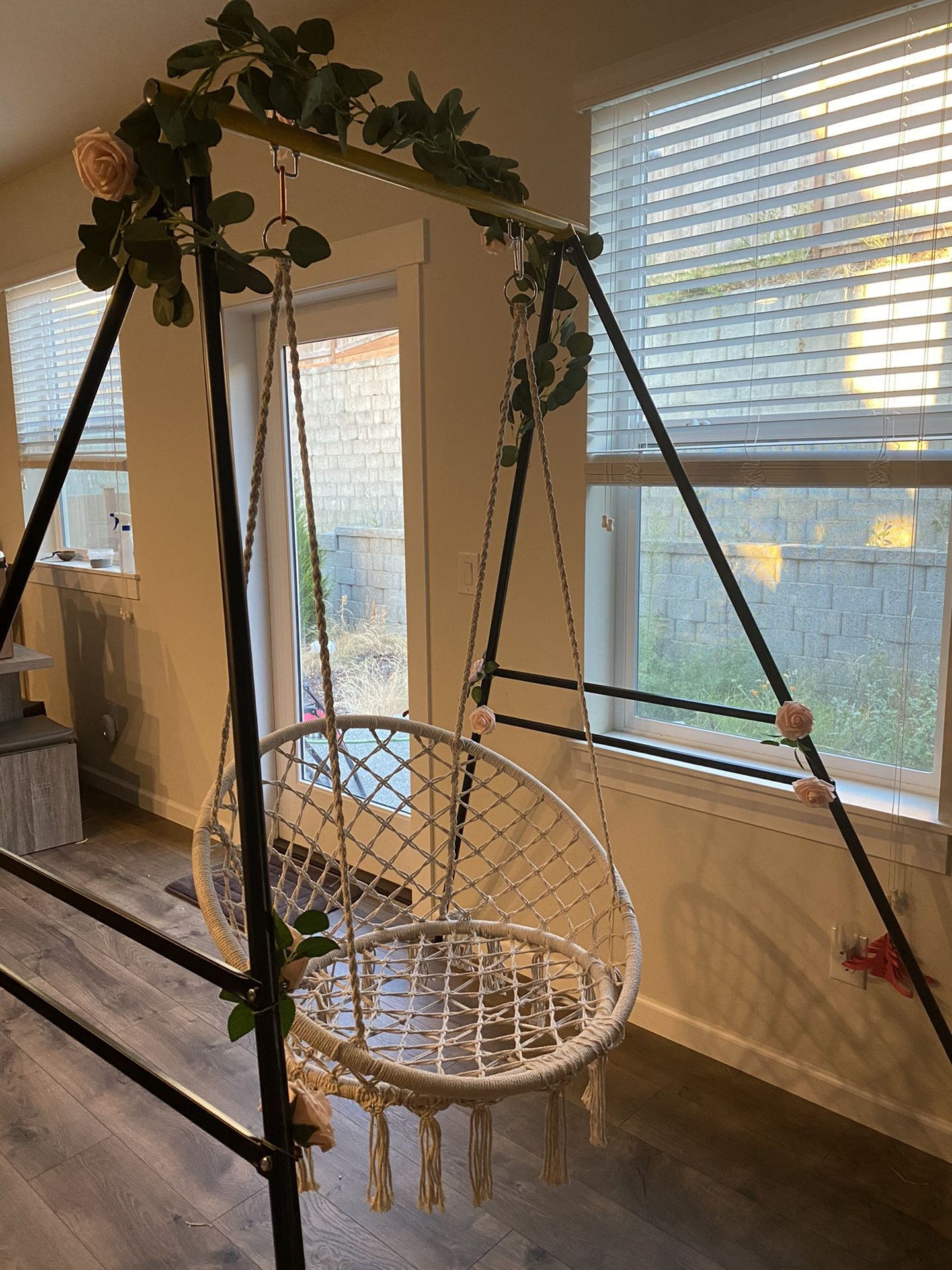 Hanging chair, hammock chair
