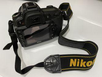 Nikon D90 DSLR Camera with 2 lenses Thumbnail