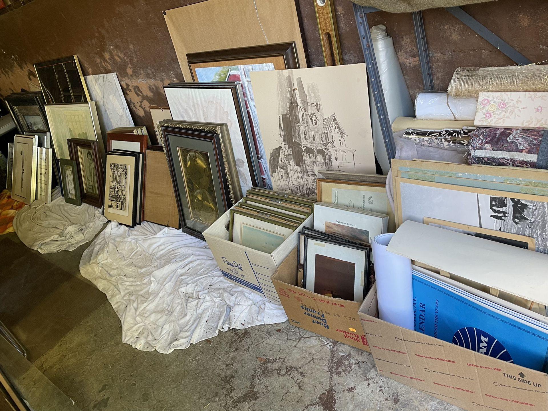 Saturday 9/25:  HUGE Estate  Sale— Furniture/Lots Of Free Stuff