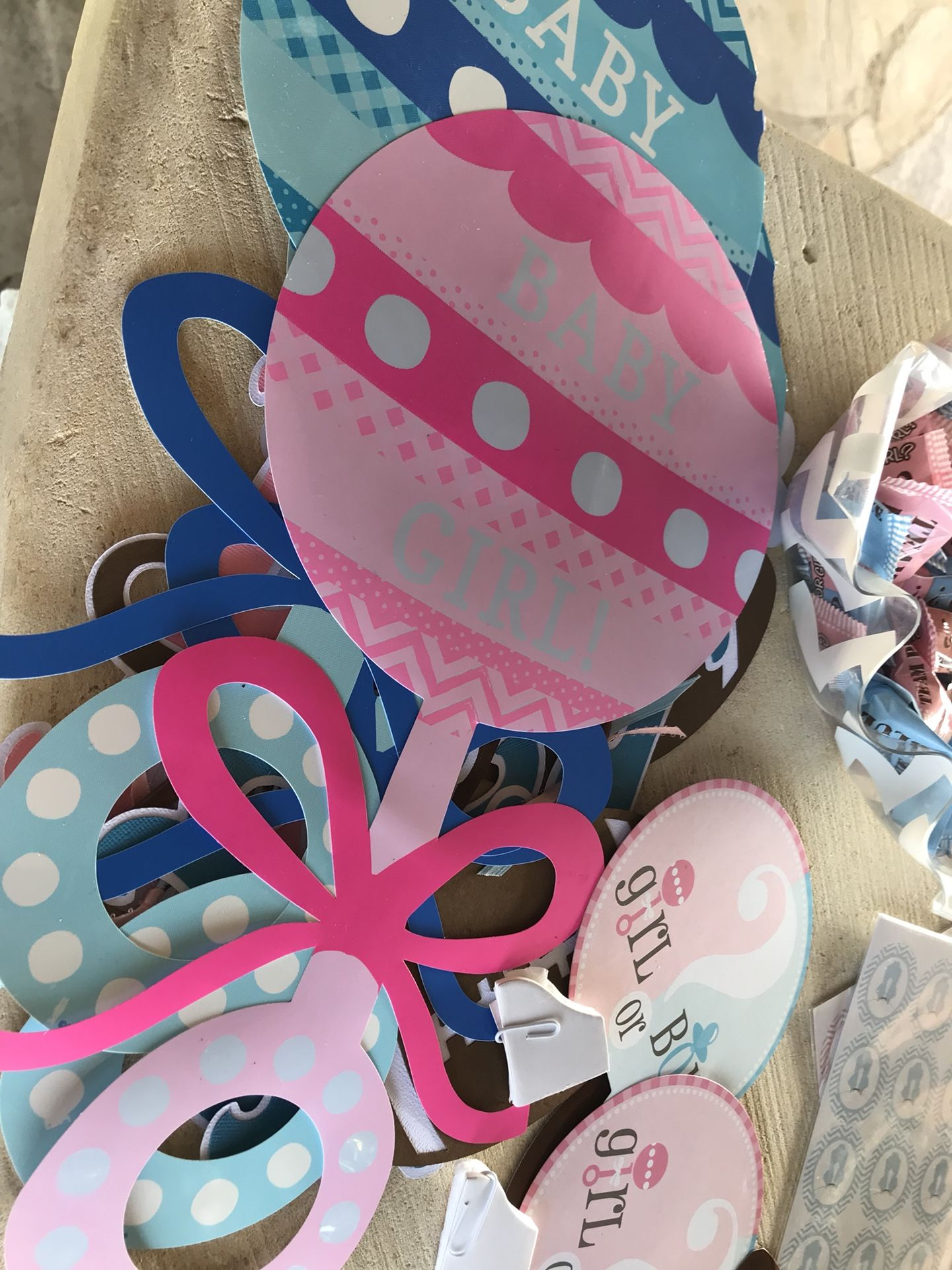 Football Gender Reveal Party Supplies
