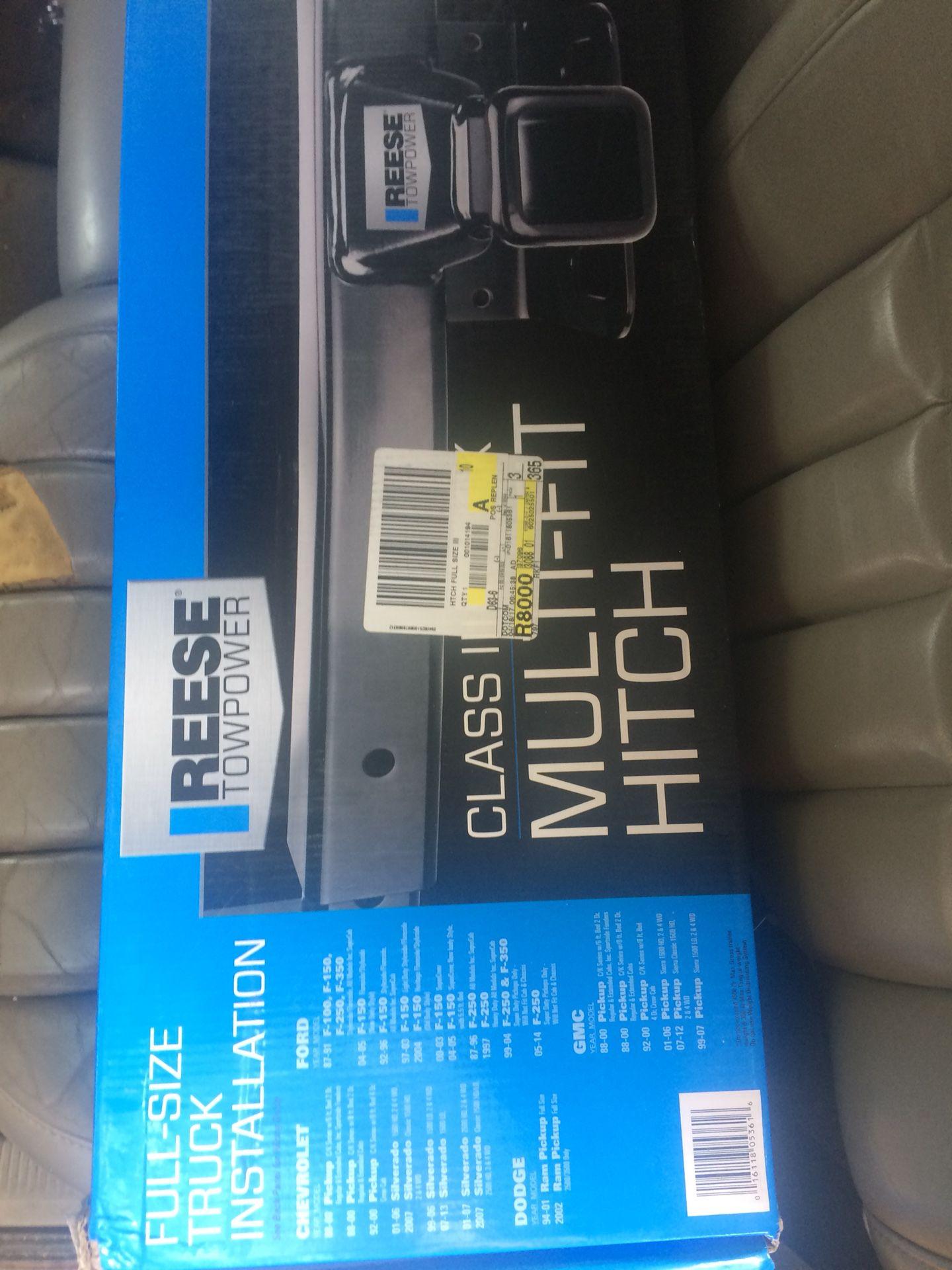 Multi-Fit Hitch Kit *NIB* (see pics)