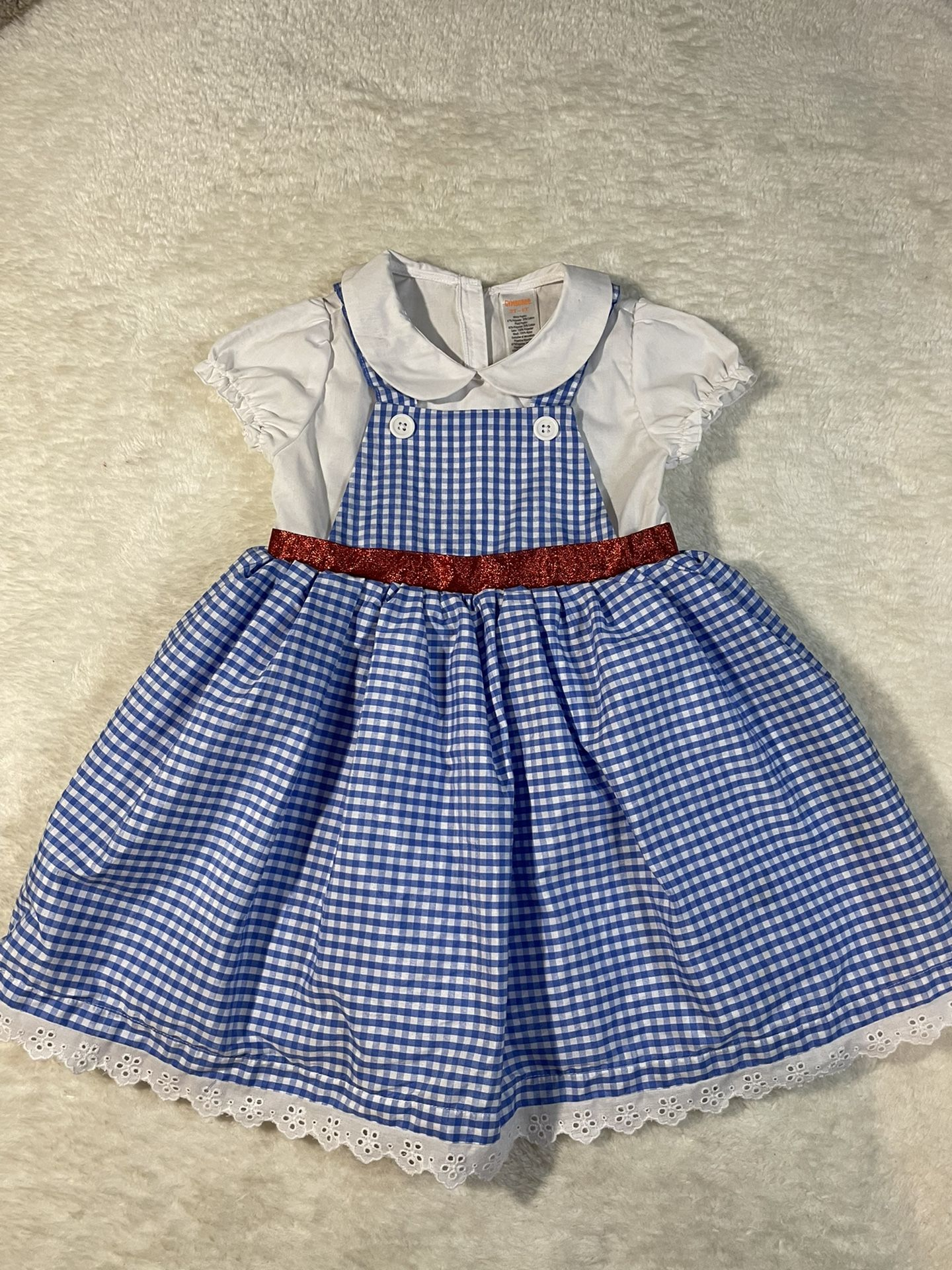 Gymboree 3T-4T Dorothy Costume