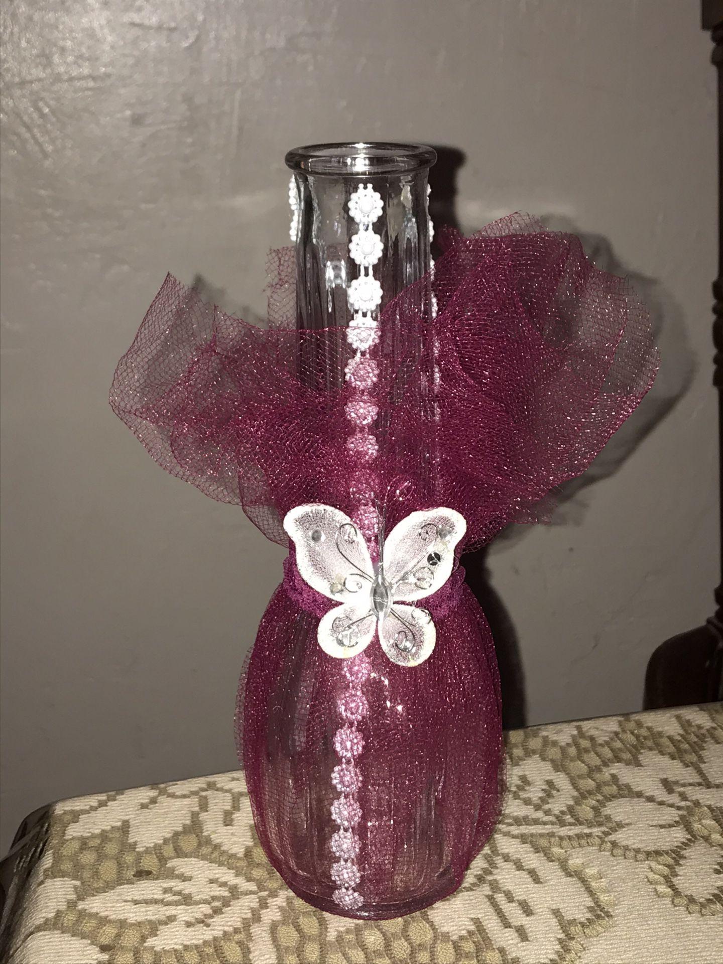 24x party vases center piece homemade adornos