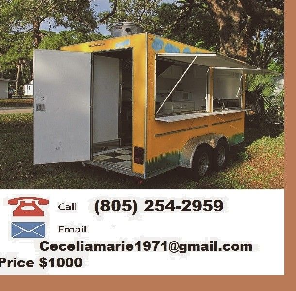 For sale Food Trailer BBQ