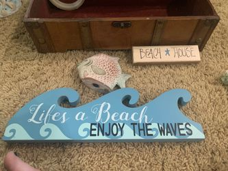 Lots of beach style decor Thumbnail