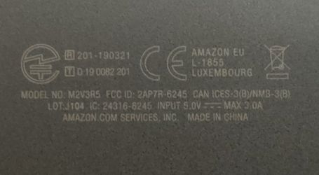 "Amazon Fire HD 10.1"" (M2V3R5) Thumbnail"