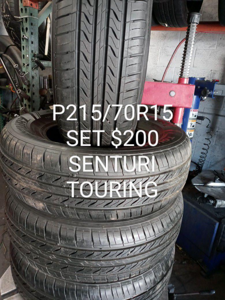 BIC LEGACY TOUR P215/60R16 SET 89%100