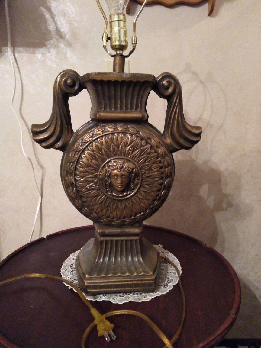Vintage Solid Steel Lamps