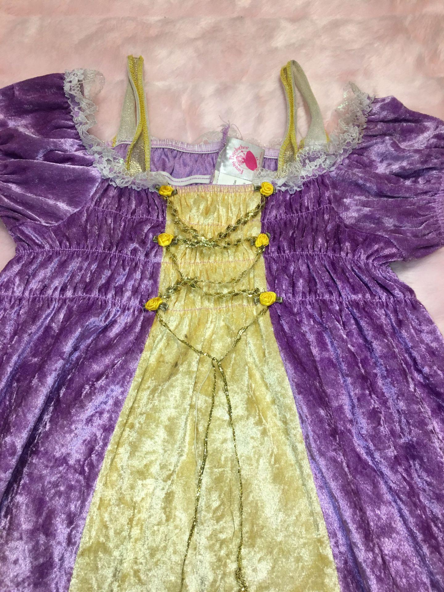 Girl's Rapunzel Dress Costume