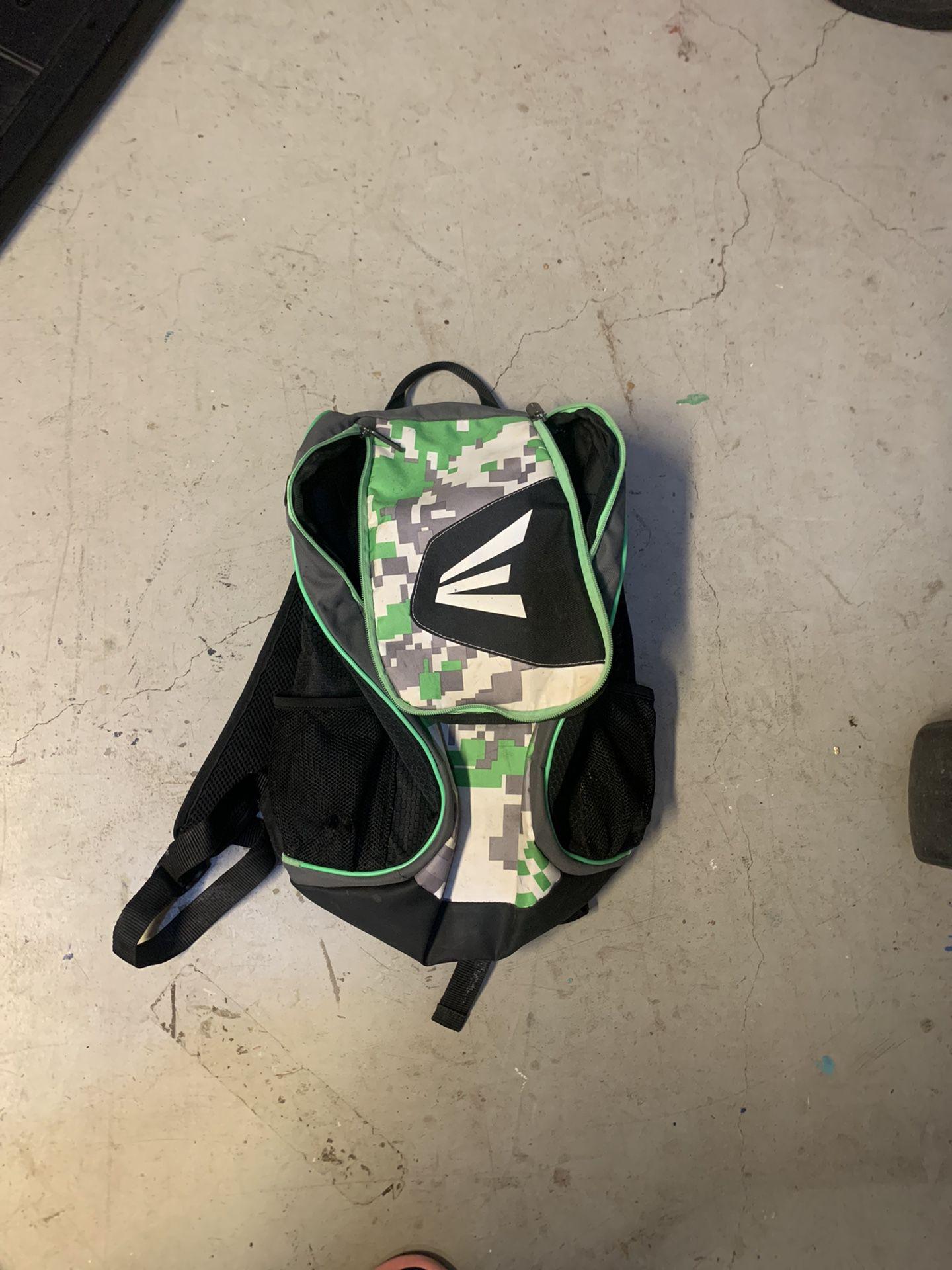 Easton softball/baseball backpack