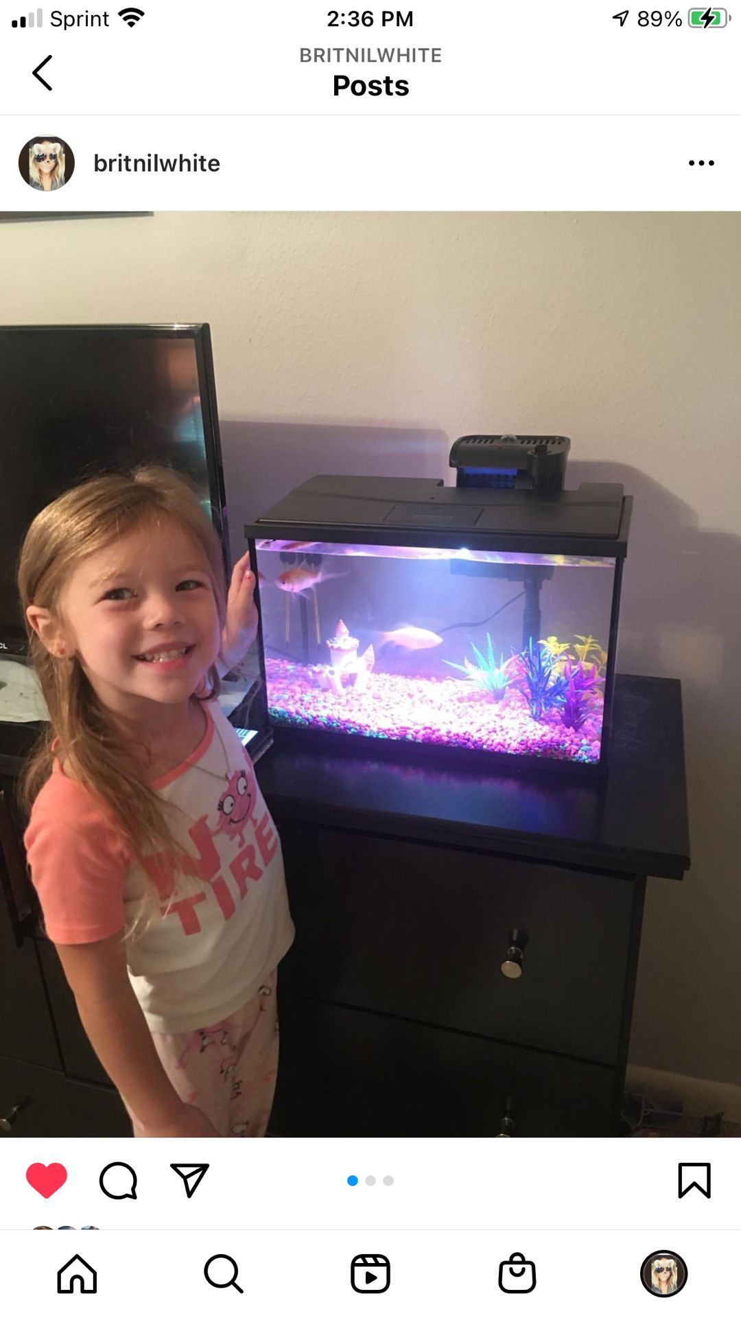 5 Gallon Top Fin Fish Tank