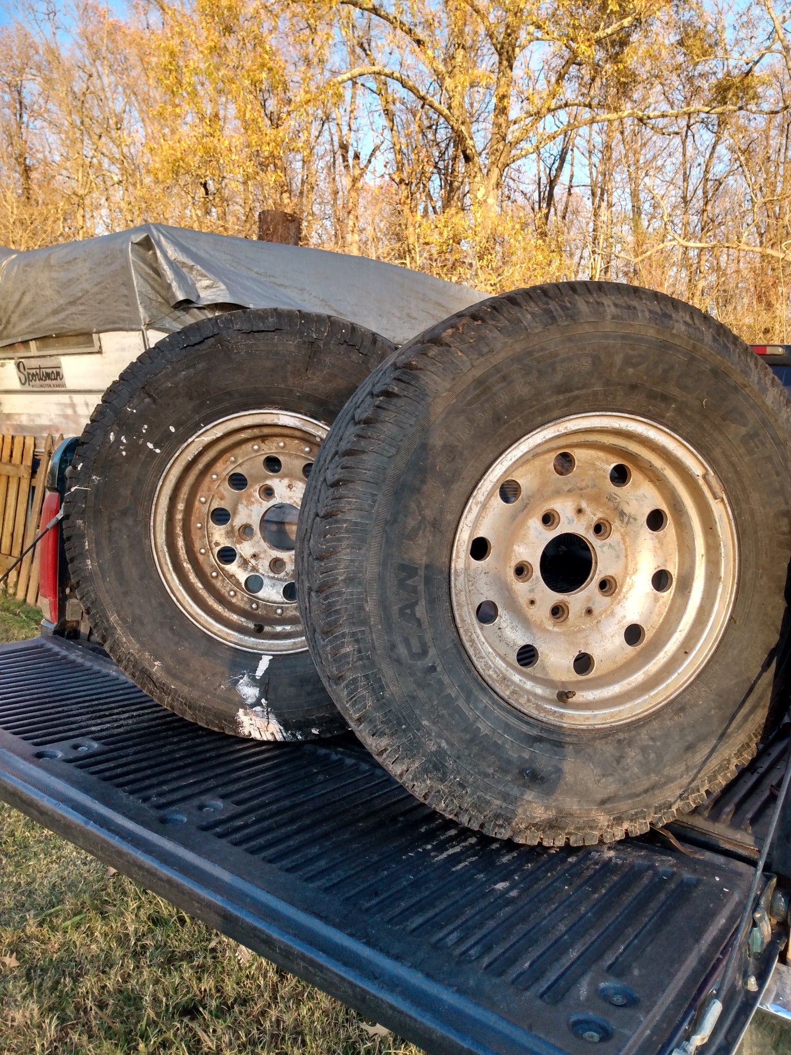 """15"""" Ford rims"""