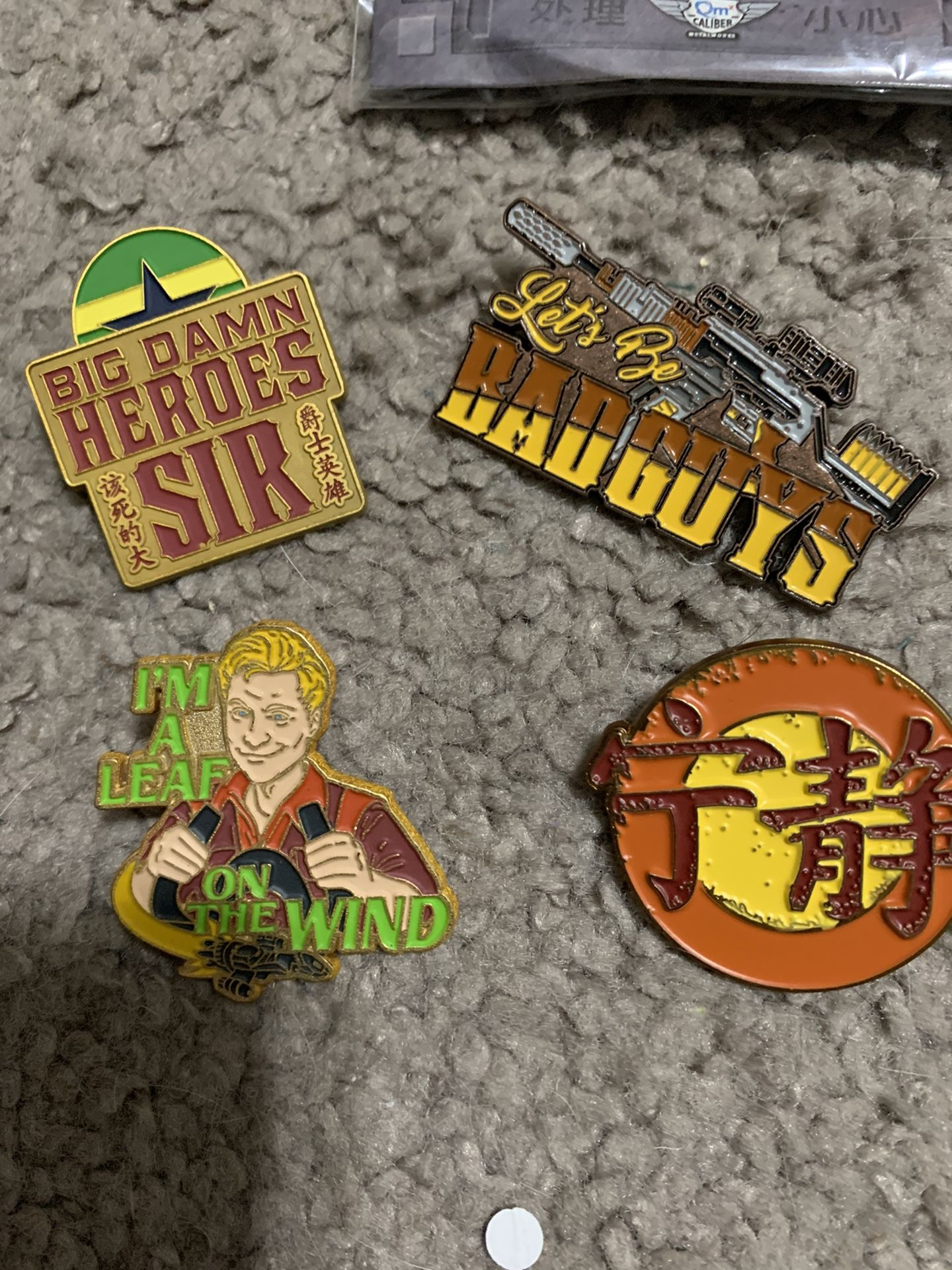 Lot Of Firefly Branded Pins