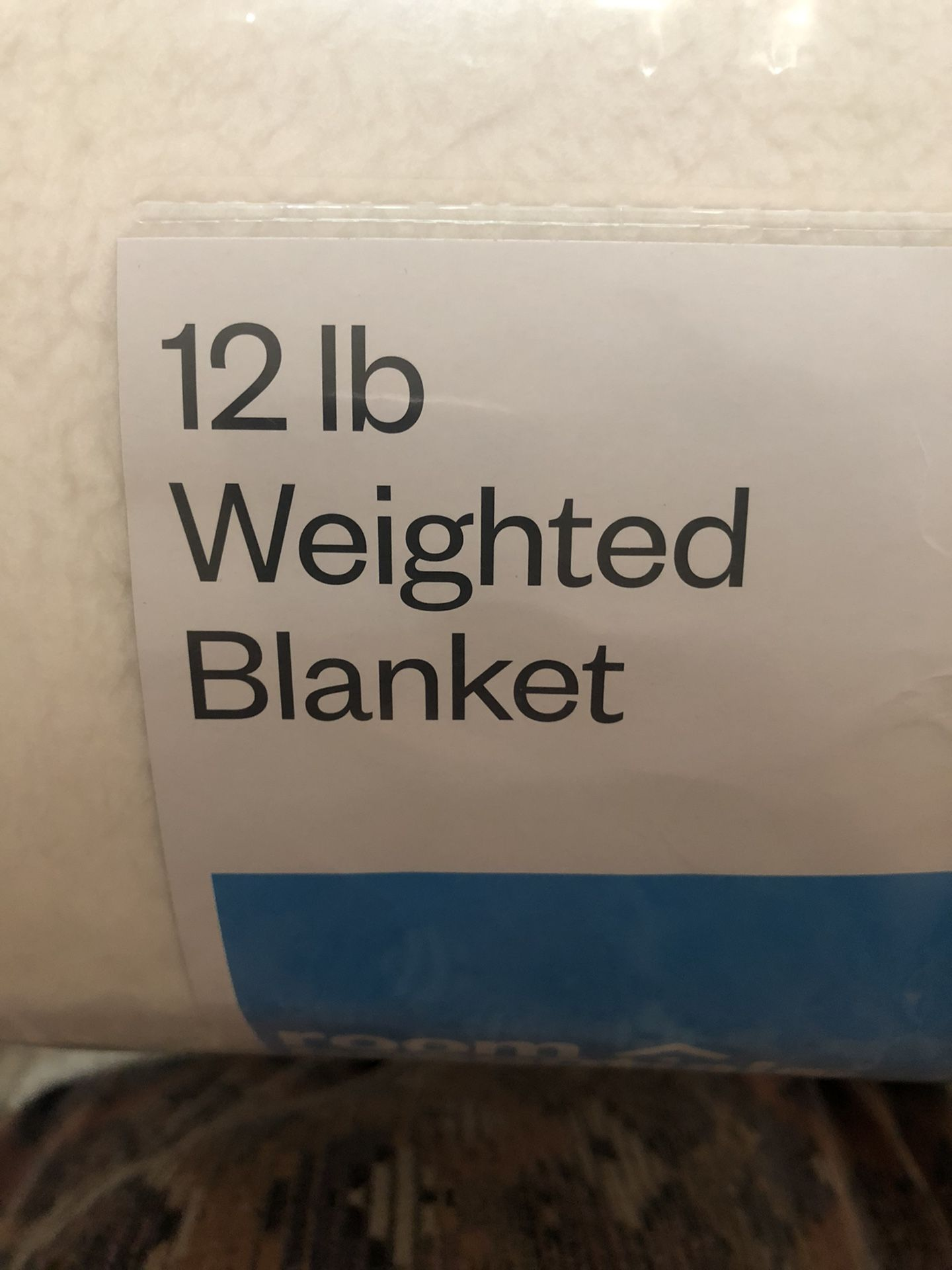 Weighted Blanket /12lb/Sherpa