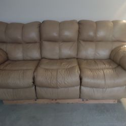 Tan Leather Couches For Sale  Thumbnail