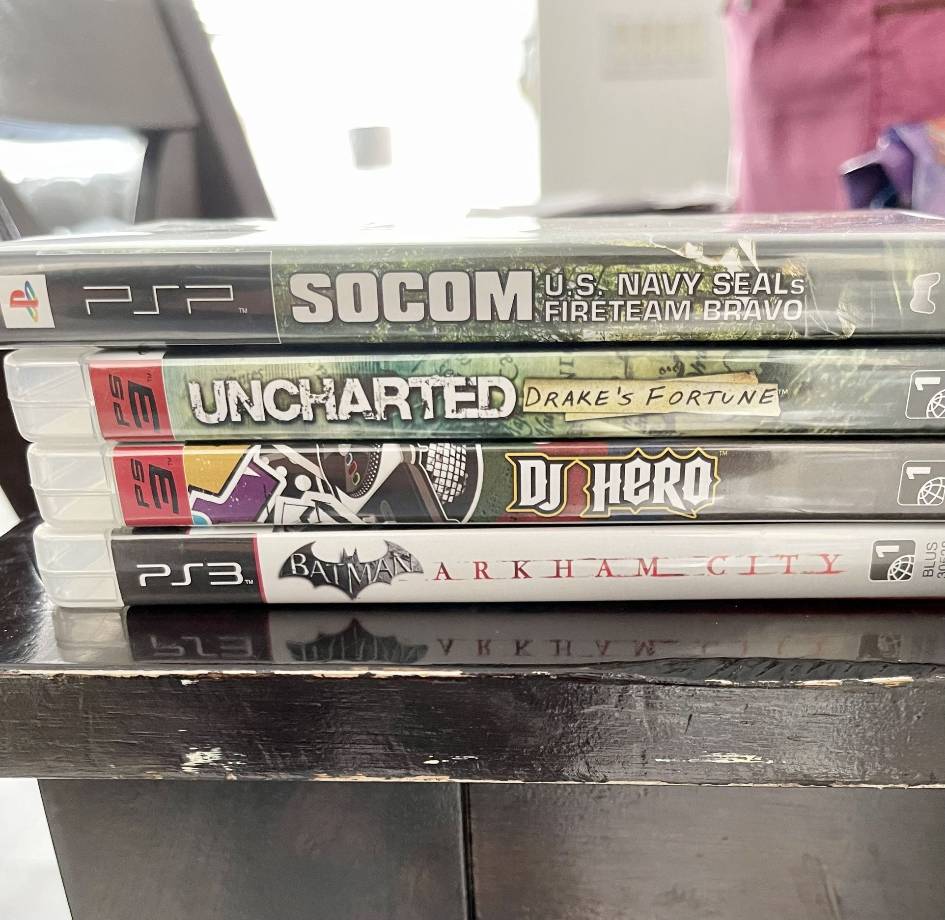 PS3 Console, PS2 console, PS3 & PS2 Games $5-15 Each