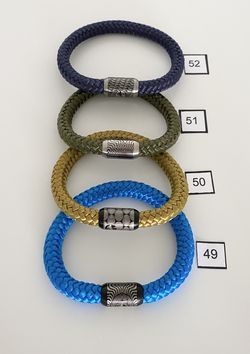 Bracelets . Leather And Rope   Clearance Collection  Thumbnail